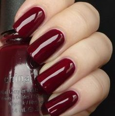 cranberry-red-nails